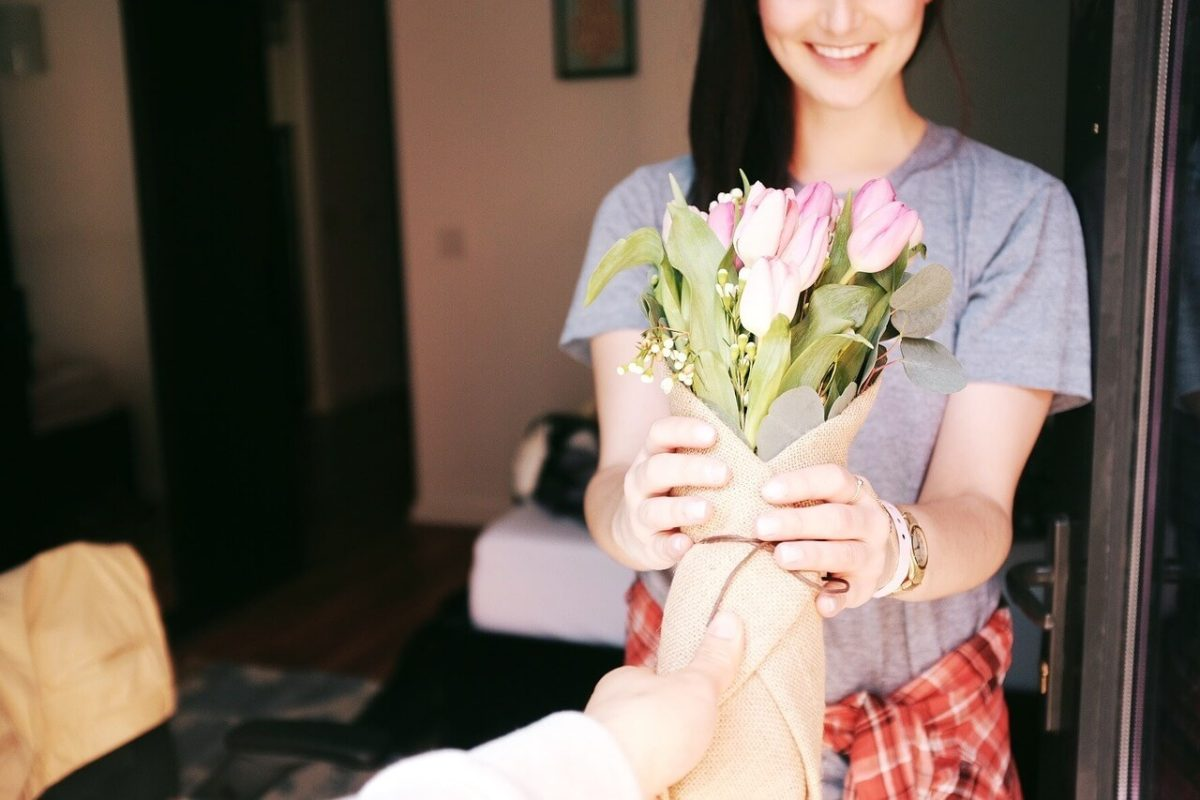bukiet kwiatów na urodziny