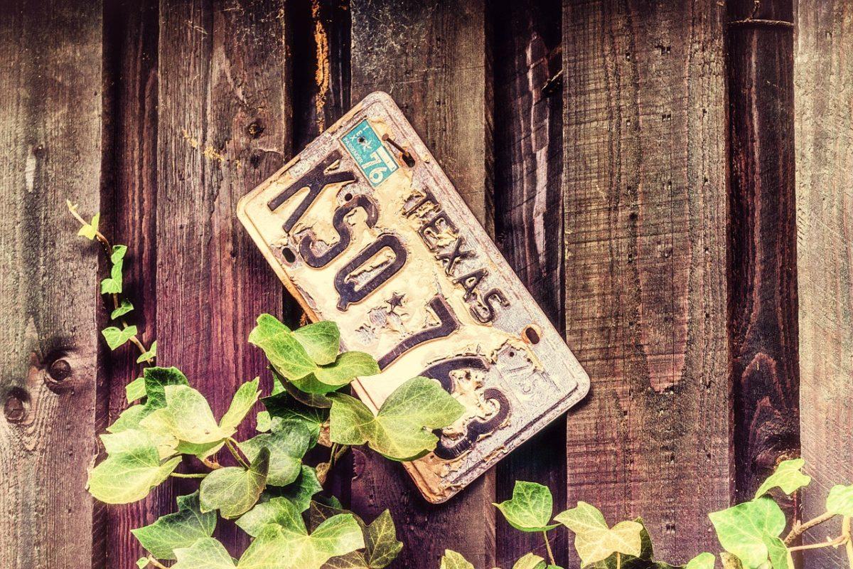 tablica rejestracyjna kradzież